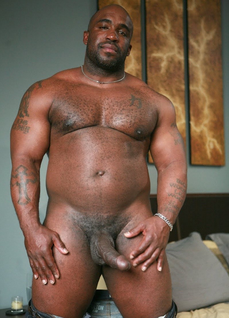 Hottest Black Man Nude