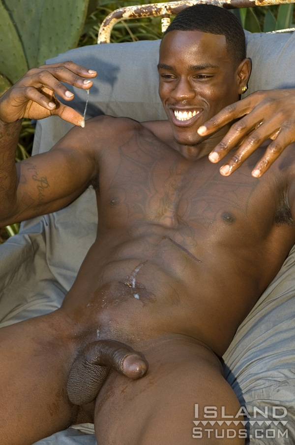 Improbable! fat naked ebony male