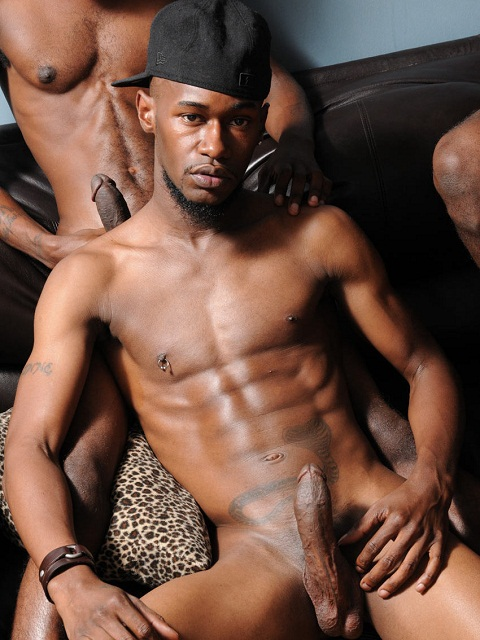 image Sexy straight black thugs jerk off and boys