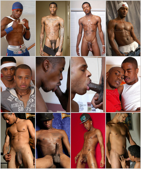 Naked black cute men
